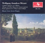 CRC 2561 Wolfgang Amadeus Mozart: Clarinet Quintet in A Major