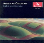 CRC 2584 American Originals.  Samuel Barber: Excursions, Op. 20