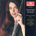 CRC 2585 Twentieth Century Works for Flute and Orchestra.