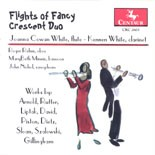 CRC 2603 Flights of Fancy.  John Rutter: Three American Miniatures for flute  and clarinet