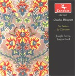 CRC 2617 Charles Dieupart: Six Suites de Clavessin.