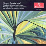CRC 2621 Flautas Fantasticas.  Gary Schocker: Three Dances for Two Flutes  and Piano