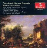 CRC 2630 Antonio and Giovanni Bononcini: Sonatas and Cantatas