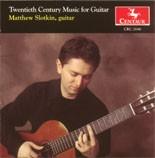 CRC 2646 Twentieth Century Music for Guitar.