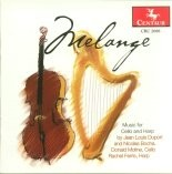 CRC 2688 Melange: Music for Cello and Harp by Nicolas Bochsa.  Nocturne in B-flat Major