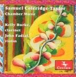 CRC 2691 Samuel Coleridge-Taylor: Chamber Music.  Quintet in F-sharp minor, Op. 10