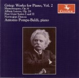 CRC 2712 Grieg: Works for Piano, Vol. 2.  Humoresques, Op. 6