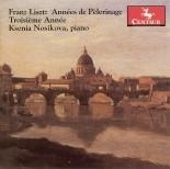 CRC 2734 Franz Liszt:  Annees de Pelerinage:  Troisieme Annee.  Angelus!  Priere aux anges gardiens