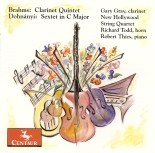 CRC 2745 Johannes Brahms:  Clarinet Quintet in B minor, Op. 115