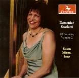 CRC 2776 Domenico Scarlatti:  10 Sonatas, Volume 2 (arr. Miron).  K. 384