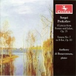 CRC 2783 Sergei Prokofiev:  10 pieces from Romeo and Juliet, Op. 75