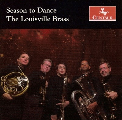CRC 2821 Season to Dance.  Stanley Friedman:  Spanish Dances for Brass Quintet