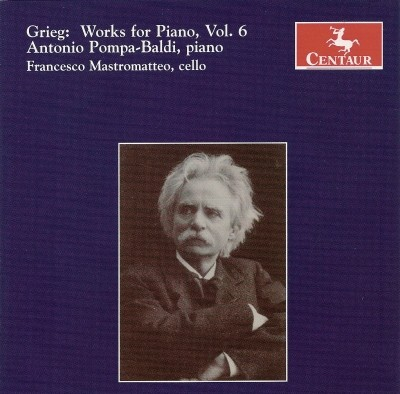 CRC 2824 Grieg:  Works for Piano, Vol. 6.  Agitato, EG 106
