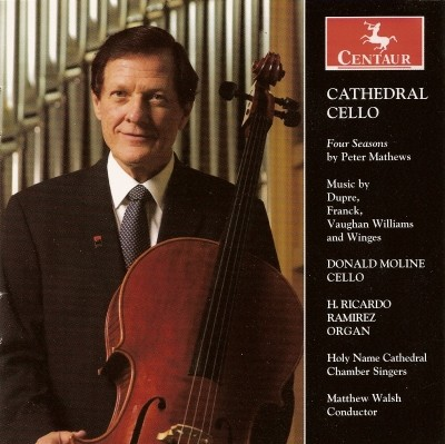 CRC 2832 Cathedral Cello.  Peter Matthews:  Spring Serenade