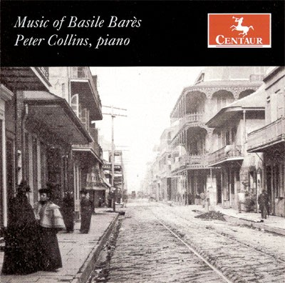 CRC 2835 Music of Basile Bares.  Peter Collins, piano