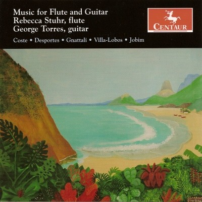 CRC 2839 Music for Flute and Guitar.  Napoleon Coste:  Le Montagnard, Op. 34