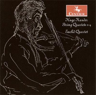 CRC 2840 Hugo Kauder:  String Quartets, Nos. 1-4