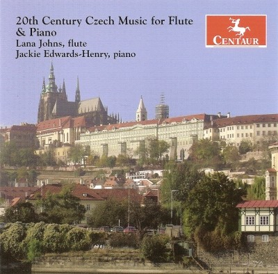 CRC 2841 20th Century Czech Music for Flute & Piano.  Peter Eben:  Sonatina Semplice