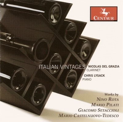 CRC 2843 Italian Vintages. Giacomo Setaccioli: Sonata for Clarinet and Piano in Eb Major, Op. 31