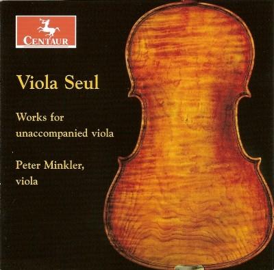 CRC 2854 Viola Seul:  Works for unaccompanied viola.  J.S. Bach:  Suite No. 2 in D minor, BWV 1008