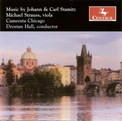 CRC 2860 Music by Johann & Carl Stamitz.  Johann Stamitz:  Mannheim Symphonies:  Symphony in A Major