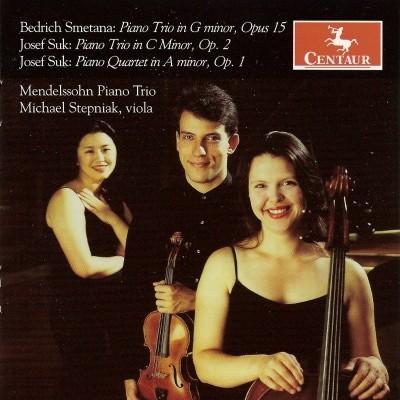 CRC 2868 Bedrich Smetana:  Piano Trio in G Minor, Op. 15