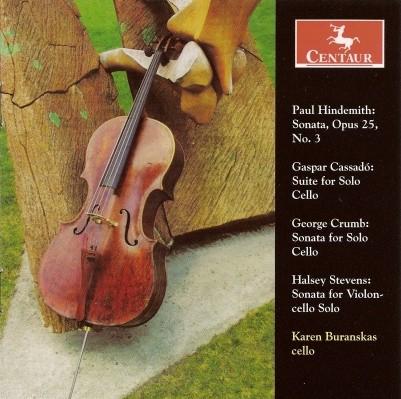 CRC 2884 Paul Hindemith:  Sonata, Op. 25, No. 3