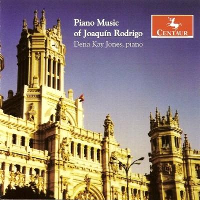 CRC 2891 Piano Music of Joaquin Rodrigo.  Uite para piano
