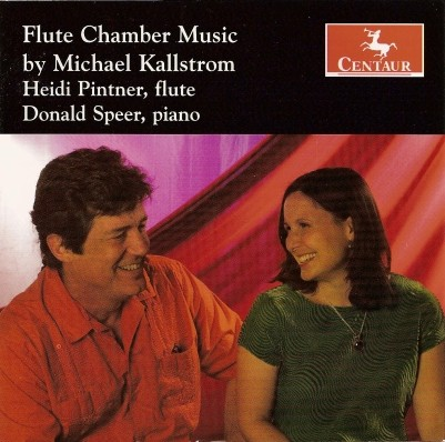 CRC 2911 Flute Chamber Music by Michael Kallstrom.  It Had to Be for Flute, Oboe, Clarinet, and Piano