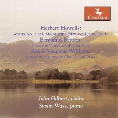 CRC 2922 Herbert Howells:  Sonata No. 1 in E Major for Violin and Piano, Op. 18