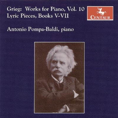 CRC 2943 Grieg:  Works for Piano, Vol. 10.  Lyric Pieces, Books V-VII