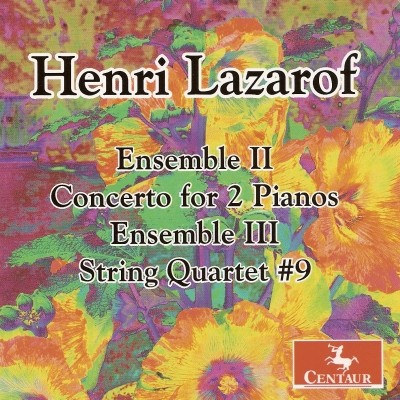 CRC 2949 Henri Lazarof:  Ensemble II for Piano 4 Hands & String Quartet