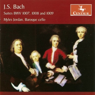 CRC 2950 J.S. Bach:  Suites BWV 1007, 1008 and 1009  A New Interpretation Based on Early Sources