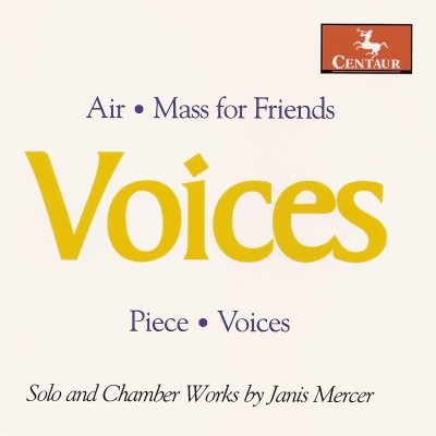 CRC 2951 Solo and Chamber Works by Janis Mercer.  Air