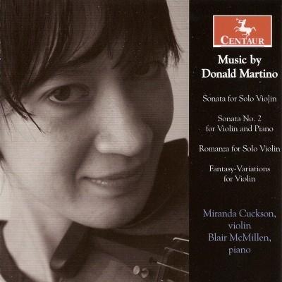 CRC 2955 Music by Donald Martino.  Sonata for Solo Violin