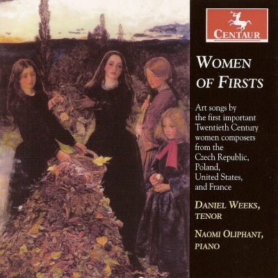 CRC 2966 Women of Firsts.  Vitezslava Kapralova:  Navzdy, Op. 12