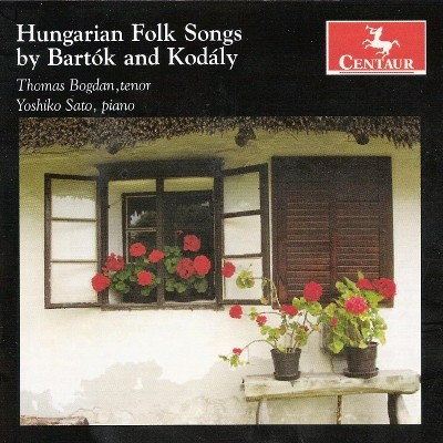 CRC 2967 Hungarian Folk Songs by Bartok and Kodaly.  Bela Bartok:  Ten Hungarian Fold Songs, Sz 33 (excerpts)