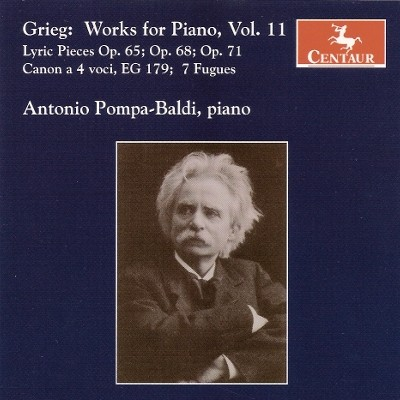 CRC 2984 Grieg:  Works for Piano, Volume 11.  Lyric Pieces, Op. 65