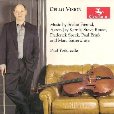 CRC 2989 Paul York:  Cello Vision.  Stefan Freund:  Toccata for Cello and Piano