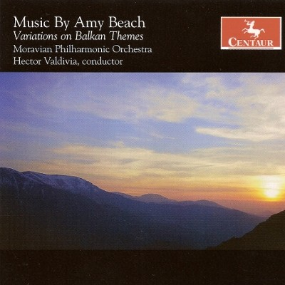 CRC 2990 Music by Amy Beach.  Variations on Balkan Themes, Op. 60c for two pianos