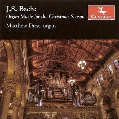 CRC 3015 J.S. Bach:  Organ Music for the Christmas Season.  Prelude, Tior, and Fugue, BWV 528/iii
