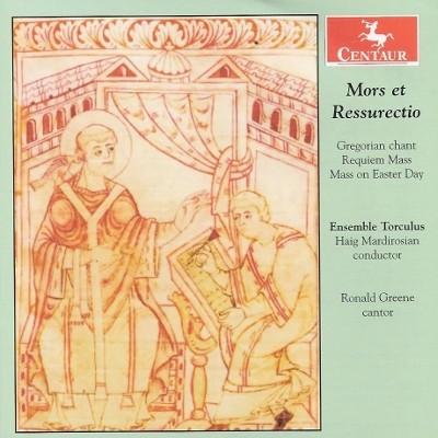 CRC 3028 Mors et Ressurectio.  Gregorian chant