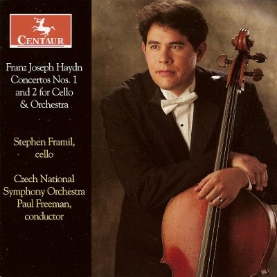 CRC 3039 Franz Joseph Haydn:  Concerto No. 1 in C Major for Cello & Orchestra