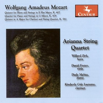 CRC 3048 Wolfgang Amadeus Mozart:  Quintet for Horn and Strings in E Flat Major, K. 407