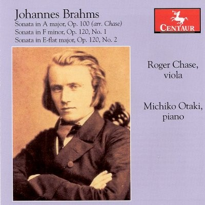 CRC 3063 Johannes Brahms:  Sonata in A Major, Op. 100 (arr. Chase)