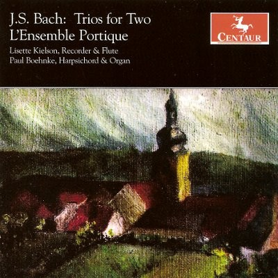 CRC 3069 J.S. Bach:  Trios for Two.  Sonata in G Minor, BWV 1020