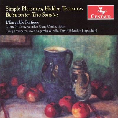 CRC 3121 Simple Pleasures, Hidden Treasures:  Boismortier Trio Sonatas.  Sonata in D Major, Op. 37/III