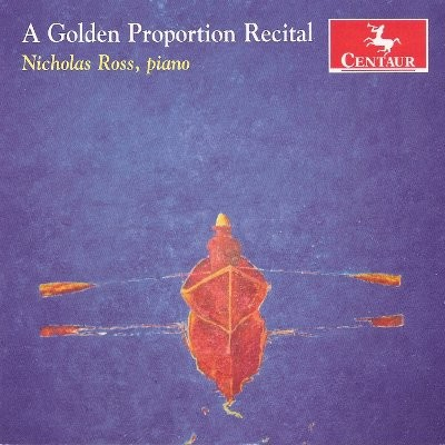 CRC 3157 A Golden Proportion.  Mozart:  Sonata in C Major, K. 279