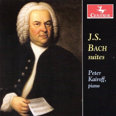 CRC 3189 J.S. Bach:  French Suite No. 5 in G-Major, BWV 816