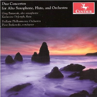 CRC 3192 Duo Concertos for Alto Saxophone, Flute, and Orchestra
